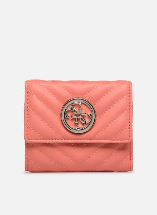 Petite Maroquinerie Guess BLAKELY SLG SMALL TRIFOLD Orange vue détail/paire