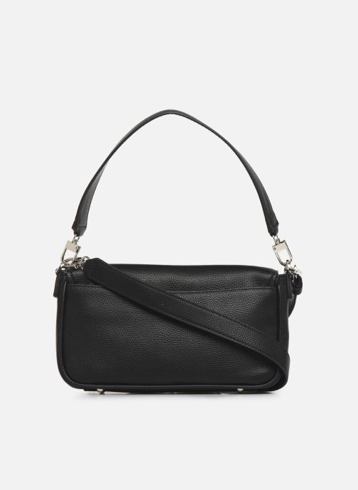 Bolsos de mano Guess BRIGHTSIDE  SHOULDER BAG Negro vista de frente