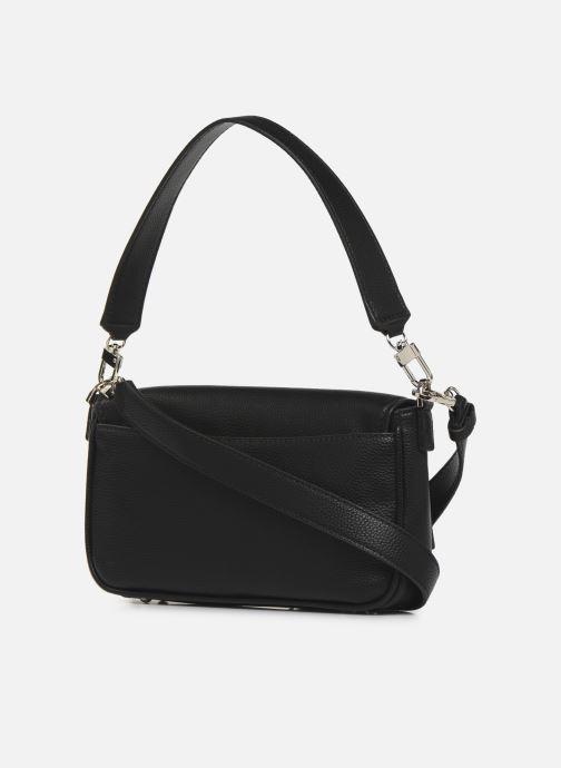 Bolsos de mano Guess BRIGHTSIDE  SHOULDER BAG Negro vista lateral derecha