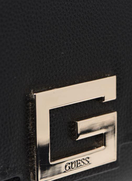 Bolsos de mano Guess BRIGHTSIDE  SHOULDER BAG Negro vista lateral izquierda