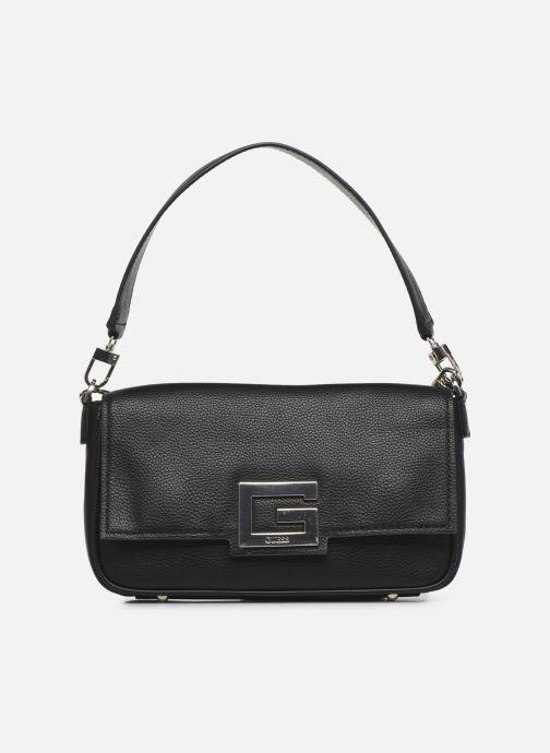 Bolsos de mano Guess BRIGHTSIDE  SHOULDER BAG Negro vista de detalle / par