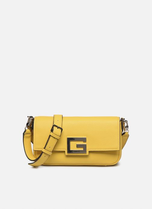 Sacs à main Guess BRIGHTSIDE  SHOULDER BAG Jaune vue détail/paire