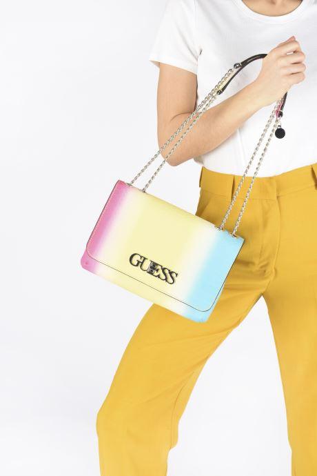 Borse Guess GUESS CHIC  CONVERTIBLE FLAP Multicolore immagine dal basso