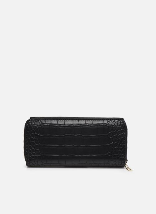 Petite Maroquinerie Guess MADDY SLG LARGE CLUTCH ORGANIZER Noir vue face