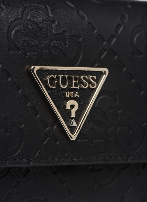 Petite Maroquinerie Guess MADDY SMALL TRIFOLD Noir vue gauche