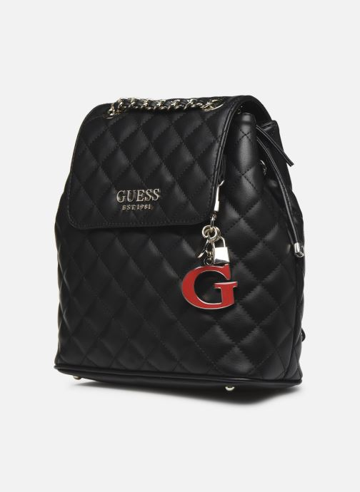 Mochilas Guess MELISE BACKPACK Negro vista del modelo
