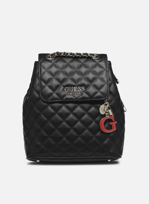 Mochilas Guess MELISE BACKPACK Negro vista de detalle / par