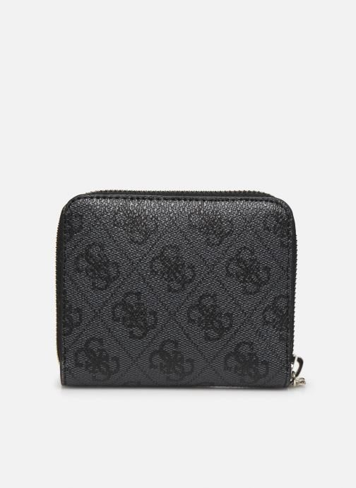 Petite Maroquinerie Guess OPEN ROAD  SMALL ZIP AROUND Noir vue face