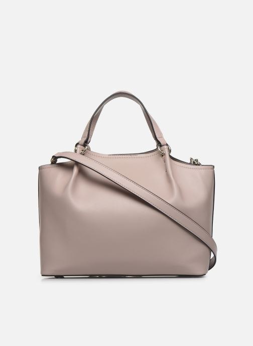 Handtassen Guess TANGEY GIRLFRIEND  SATCHET Roze voorkant