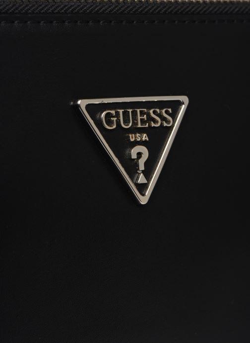 Borse Guess TANGEY MINICROSSBODY TOP ZIP Nero immagine sinistra