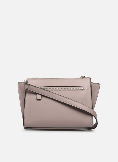 Handtaschen Guess TANGEY MINICROSSBODY TOP ZIP rosa ansicht von vorne