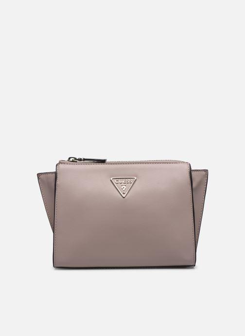 Handtaschen Guess TANGEY MINICROSSBODY TOP ZIP rosa detaillierte ansicht/modell