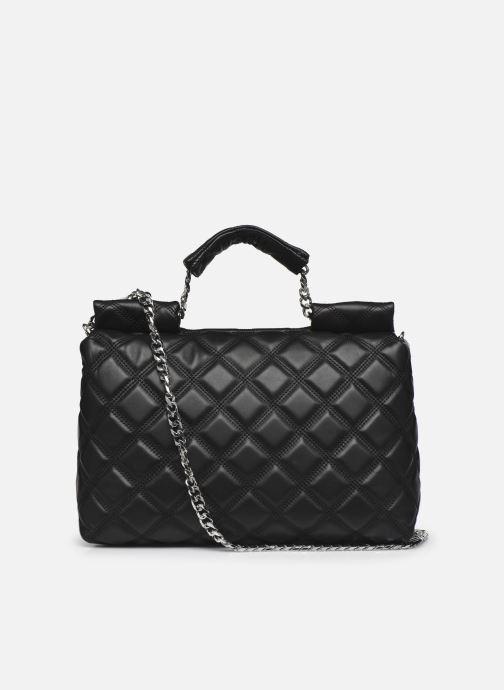 Handtaschen Guess CORAL TOP  HANDLE FLAP schwarz ansicht von vorne