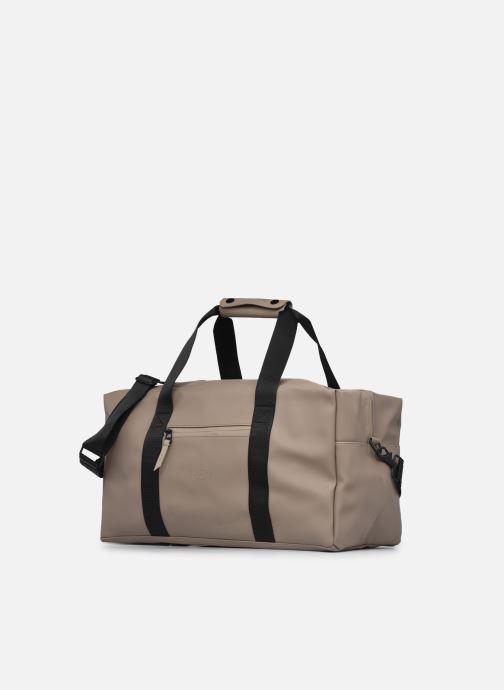 Sporttaschen Rains  Gym Bag beige schuhe getragen