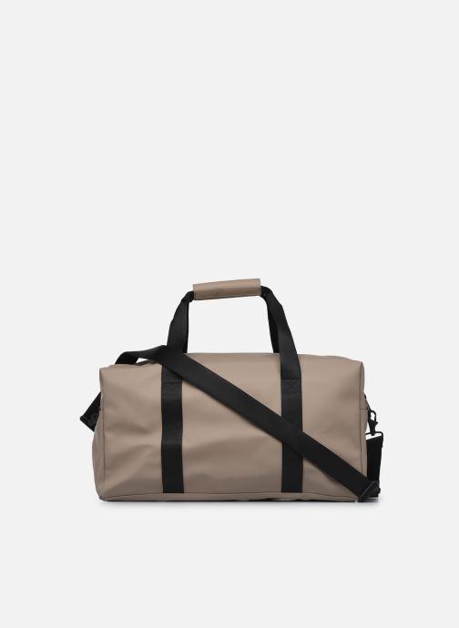 Sporttaschen Rains  Gym Bag beige ansicht von vorne