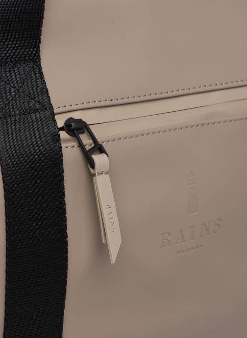 Sporttaschen Rains  Gym Bag beige ansicht von links