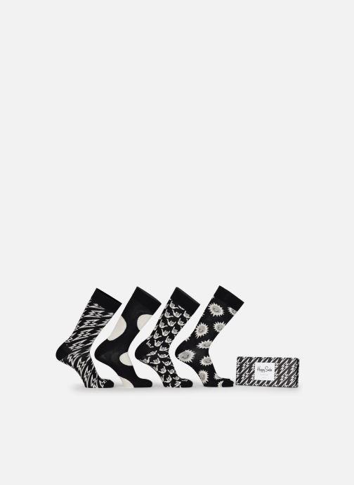 Chaussettes et collants Happy Socks Coffret Noir et Blanc Noir vue détail/paire