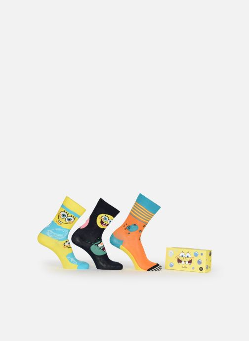 Socken & Strumpfhosen Happy Socks Coffret Bob l'Eponge Lot de 3 mehrfarbig detaillierte ansicht/modell
