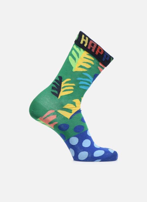 Calze e collant Happy Socks Chaussette Big Leaf Verde vedi dettaglio/paio