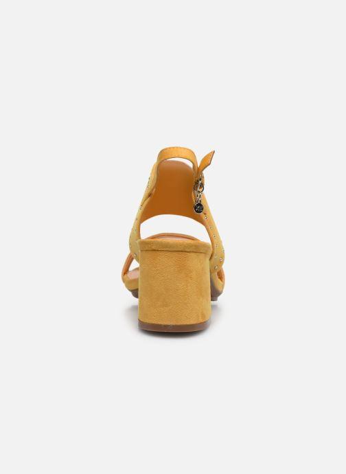 Sandales et nu-pieds Xti 35194 Jaune vue droite