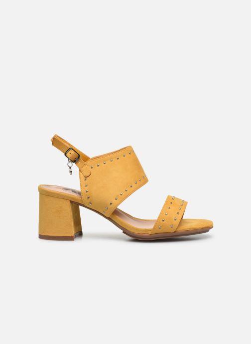 Sandales et nu-pieds Xti 35194 Jaune vue derrière