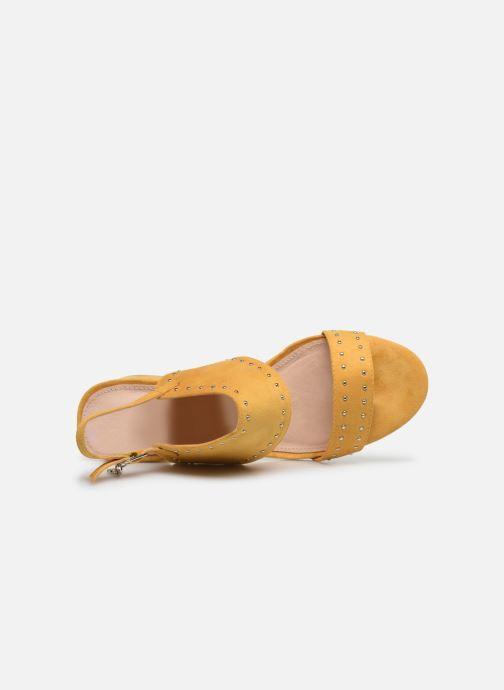 Sandales et nu-pieds Xti 35194 Jaune vue gauche