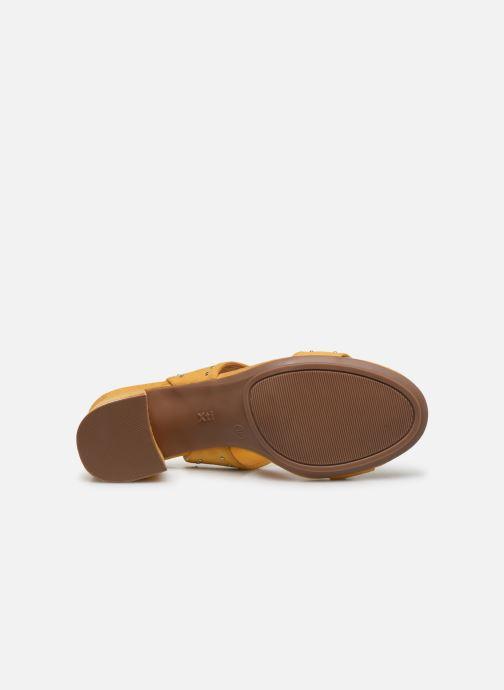 Sandales et nu-pieds Xti 35194 Jaune vue haut