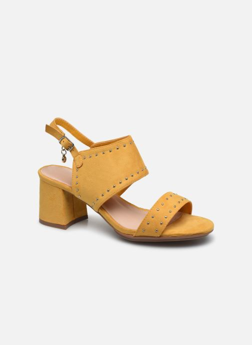 Sandales et nu-pieds Xti 35194 Jaune vue détail/paire