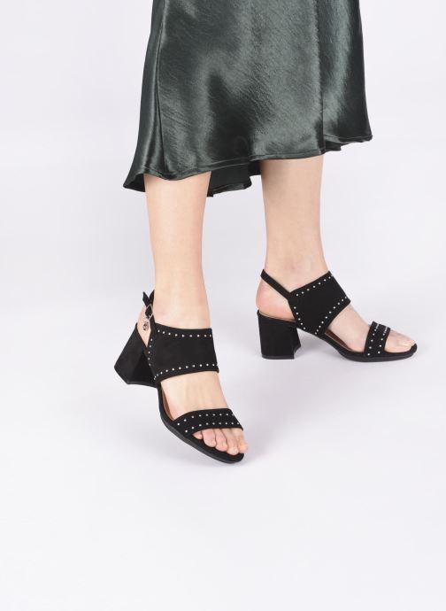 Sandalen Xti 35194 schwarz ansicht von unten / tasche getragen