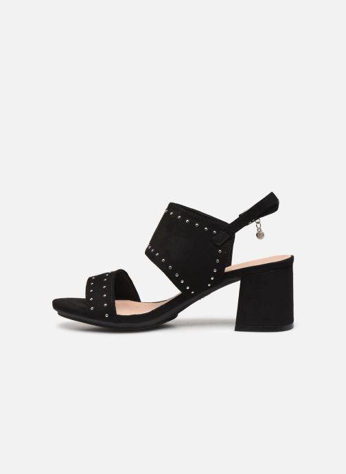 Sandalen Xti 35194 schwarz ansicht von vorne