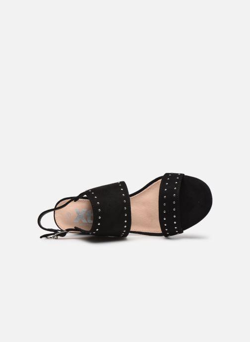 Sandalen Xti 35194 schwarz ansicht von links