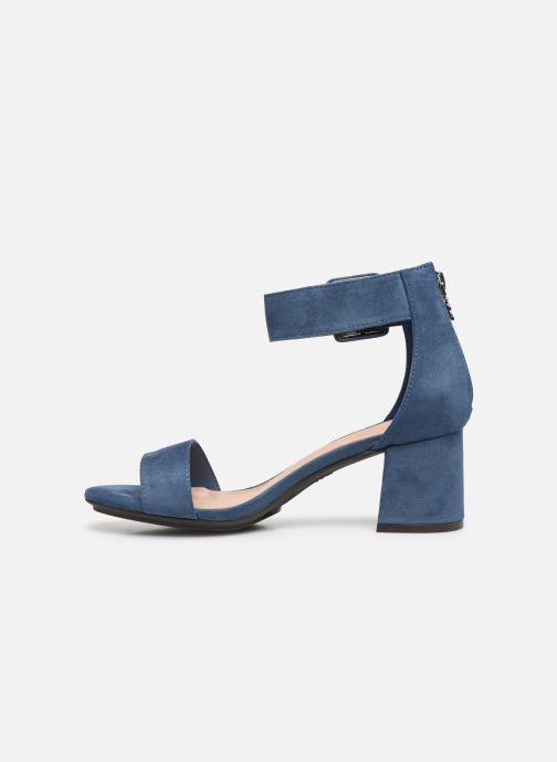 Sandales et nu-pieds Xti 35196 Bleu vue face