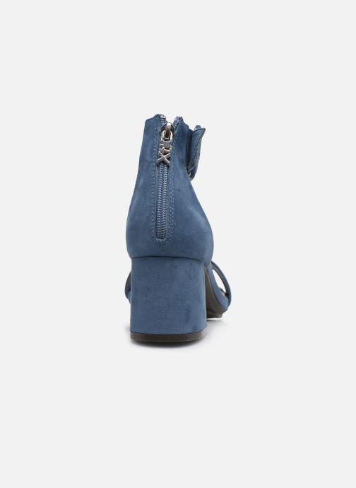 Sandales et nu-pieds Xti 35196 Bleu vue droite