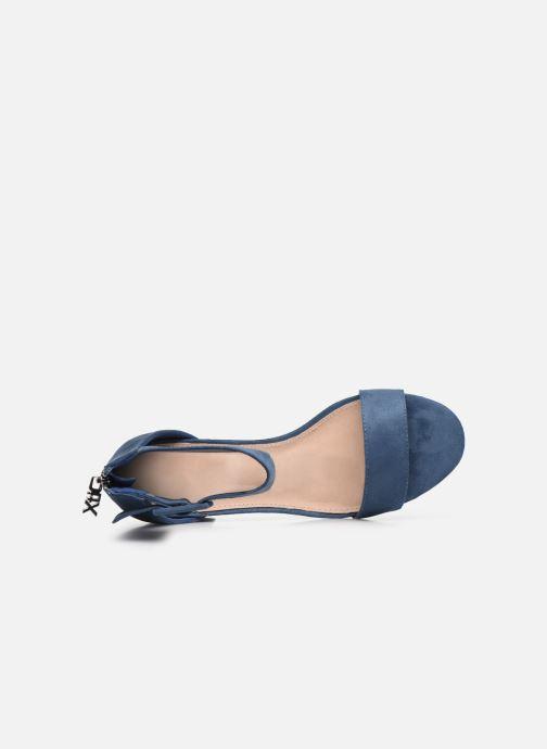 Sandales et nu-pieds Xti 35196 Bleu vue gauche