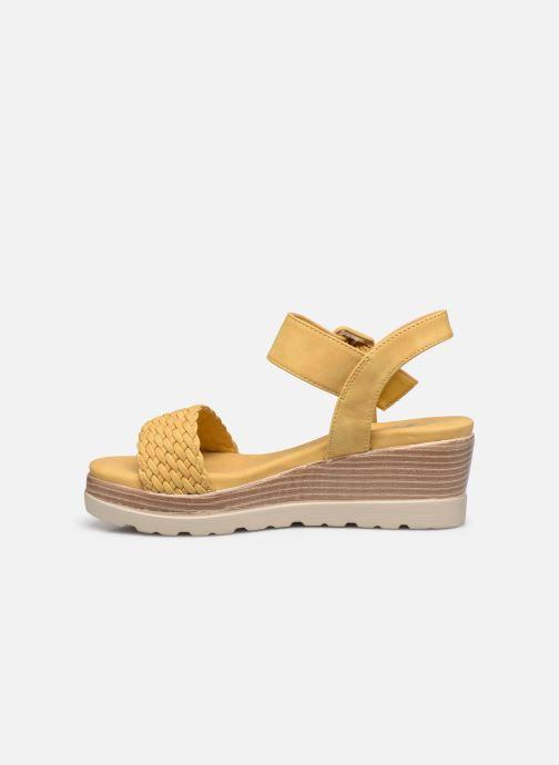 Sandales et nu-pieds Xti 44003 Jaune vue face
