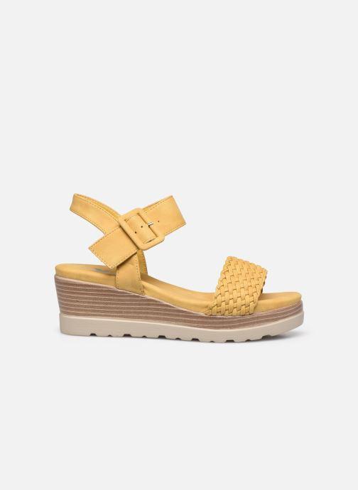 Sandales et nu-pieds Xti 44003 Jaune vue derrière