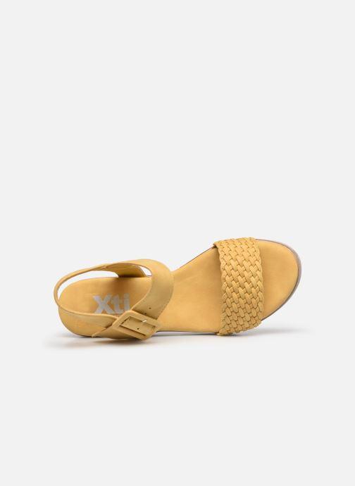 Sandales et nu-pieds Xti 44003 Jaune vue gauche