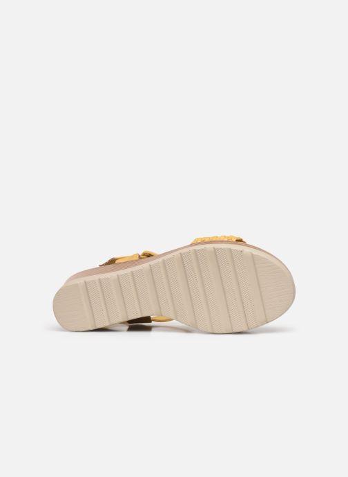Sandales et nu-pieds Xti 44003 Jaune vue haut