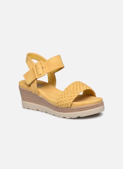Sandales et nu-pieds Xti 44003 Jaune vue détail/paire
