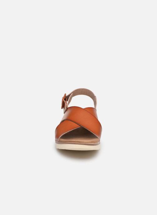 Sandales et nu-pieds Xti 49844 Marron vue portées chaussures