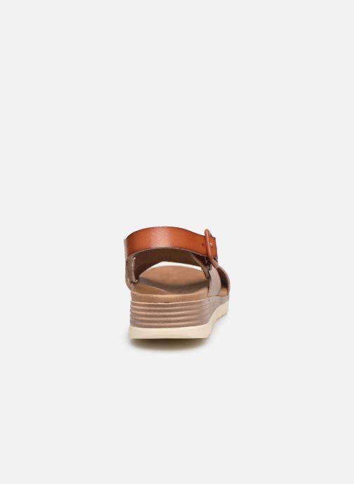 Sandales et nu-pieds Xti 49844 Marron vue droite