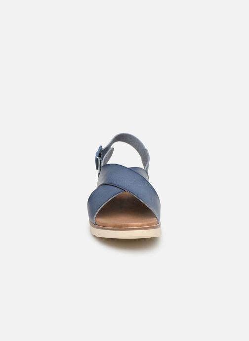 Sandales et nu-pieds Xti 49844 Bleu vue portées chaussures