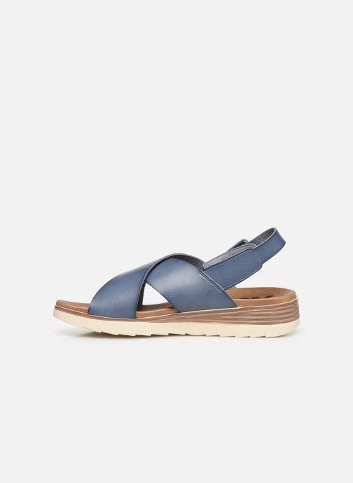 Sandales et nu-pieds Xti 49844 Bleu vue face