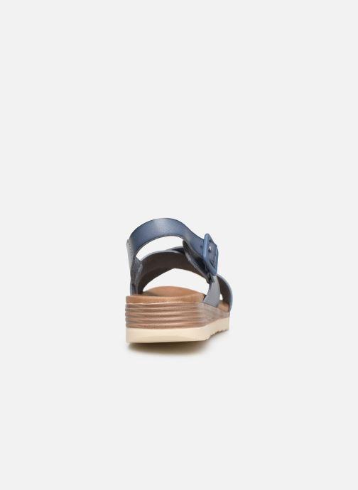 Sandales et nu-pieds Xti 49844 Bleu vue droite