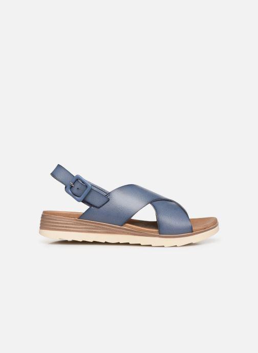 Sandales et nu-pieds Xti 49844 Bleu vue derrière