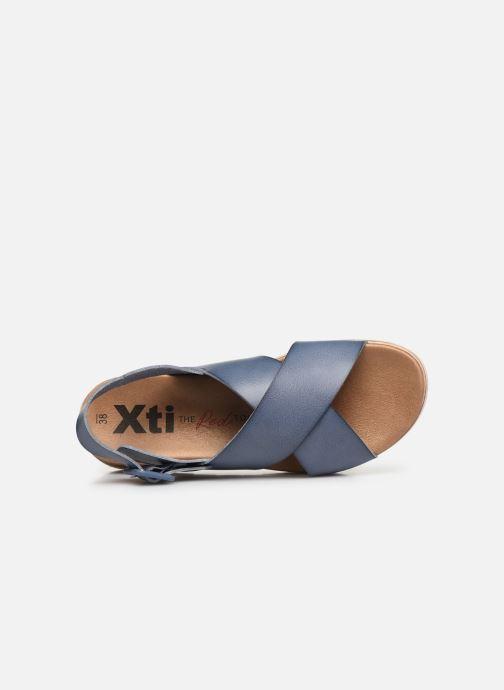 Sandales et nu-pieds Xti 49844 Bleu vue gauche