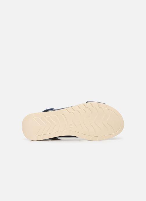 Sandales et nu-pieds Xti 49844 Bleu vue haut