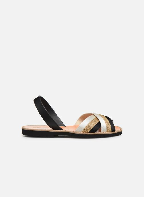 Sandales et nu-pieds MINORQUINES AVARCA RAFEL Or et bronze vue derrière