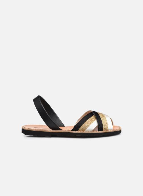 Sandalen Minorquines AVARCA RAFEL gold/bronze ansicht von hinten