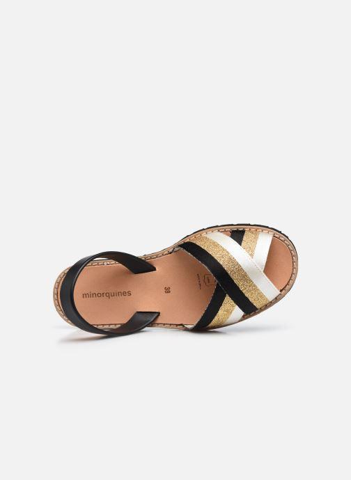 Sandalen Minorquines AVARCA RAFEL gold/bronze ansicht von links